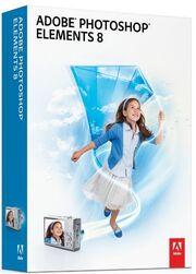 Adobe Photoshop Elements 8 box