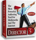 Macromedia Director 5 box