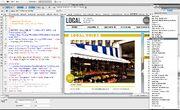 Adobe Dreamweaver CS5 screenshot