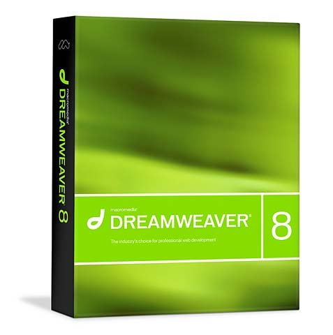 Macromedia Dreamweaver 8 box