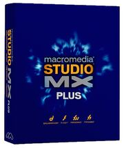 Macromedia Studio MX Plus box