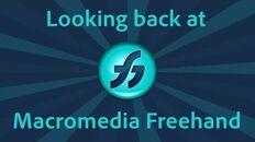 Looking back at Macromedia FreeHand