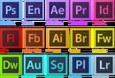 Adobe Creative Suite 6 icons