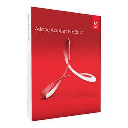 Adobe Acrobat Pro 2017 DVD box
