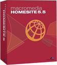 Macromedia HomeSite 5.5 box