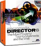 Macromedia Director 6 box