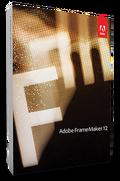 Adobe FrameMaker 12 box