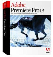 Adobe Premiere Pro 1.5 box
