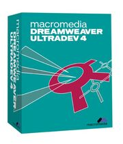 Macromedia Dreamweaver UltraDev 4 box