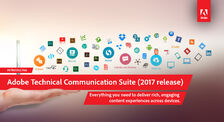 Adobe Technical Communication Suite 2017 banner