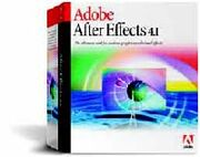 Adobe After Effects 4.1 box
