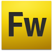 Adobe Fireworks CS4 icon+shadow