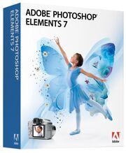 Adobe Photoshop Elements 7 box