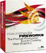 Macromedia Fireworks 1 box
