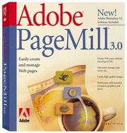Adobe PageMill 3.0 box