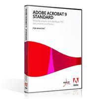 Adobe Acrobat 9 Standard case for Windows