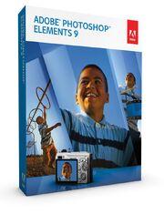 Adobe Photoshop Elements 9 box