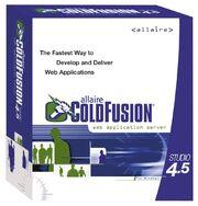 Allaire ColdFusion Studio 4.5 box