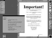 FrameMaker 2 pre-alpha NeXT screenshot