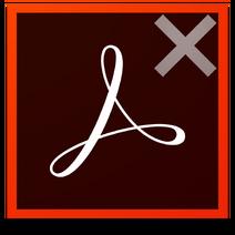 Adobe Acrobat Cleaner Tool icon