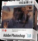 Adobe Photoshop 3.0 box