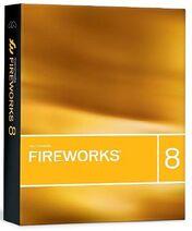 Macromedia Fireworks 8 box
