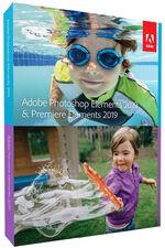 Adobe Photoshop Elements 2019 & Adobe Premiere Elements 2019 box