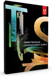 Adobe Technical Communication Suite 5 box