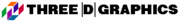 Three D Graphics logo