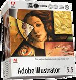 Adobe Illustrator 5.5 box