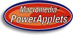 Macromedia PowerApplets logo+shadow