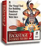 Macromedia Backstage Internet Studio 2 box