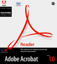 Adobe Acrobat Reader 1.0 educational cover
