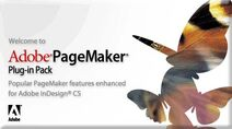 Adobe PageMaker Plug-In Pack welcome
