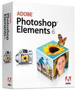 Adobe Photoshop Elements 6 box
