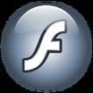 Macromedia Flash Player 8+9 icon