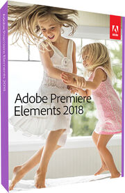 Adobe Premiere Elements 2018 box