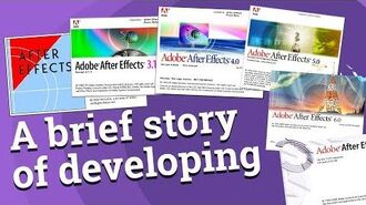 The story behind Adobe © After Effects ©