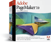 Adobe PageMaker 7 box