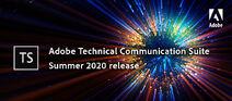 Adobe Technical Communication Suite 2020 summer banner