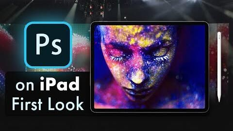 Photoshop on iPad Pro - First Look