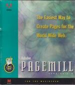 Adobe PageMill 1.0 box