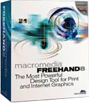 Macromedia FreeHand 8 box