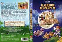 Caratula DVD La Bruja Novata gallego