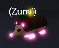 Neon Hedgehog