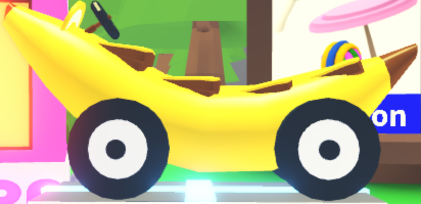 Banana Car Adopt Me Wiki Fandom Powered By Wikia - how to get a car on roblox adopt me