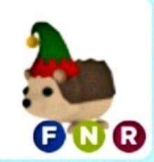 Neon Elf Hedgehog