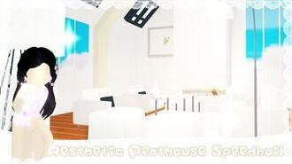 Adopt me penthouse speedbuild PT-3 living room Eclipse sarah