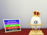 Huevo real
