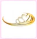 AM Gold Tiara